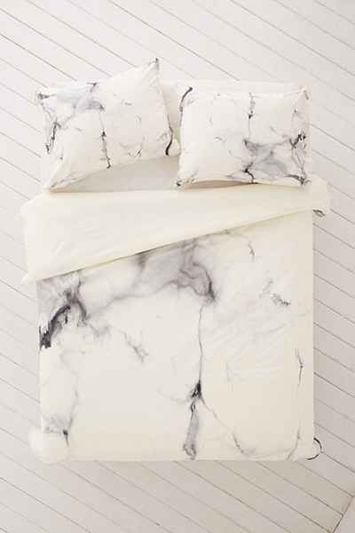 Chelsea Victoria For DENY Marble Duvet Cover - Super cool for Finley's room too!