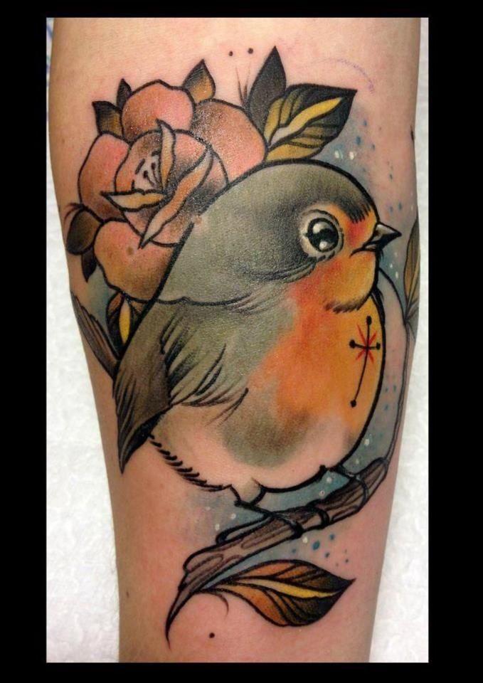 Birds Tattoo, but a cardinal for my Granny :)