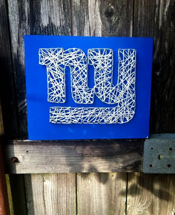 New York Giants NY Giants Giants Baby New York by TheRusticWillows