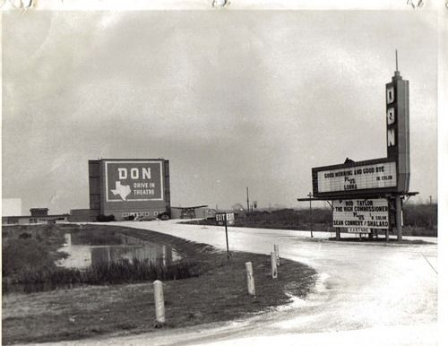 The Don Drive-In in Port Arthur, Texas