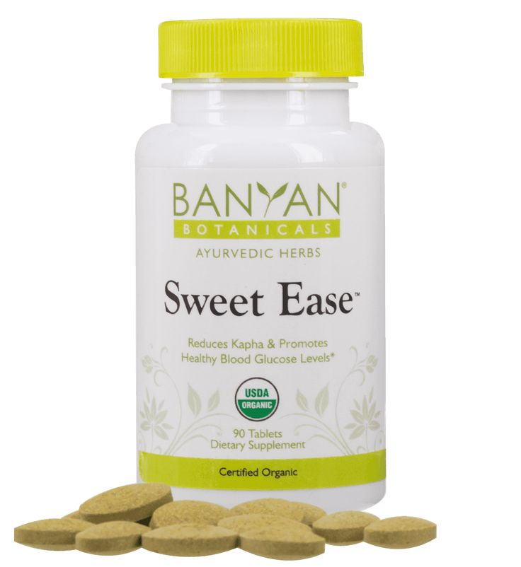 Buy Sweet Ease Supplements Online - Organic Sweet Ease Tablets for Sale | Banyan…