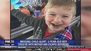 .PALM COAST, Fla. (WOFL FOX 35) - The state of Florida has issued a Missing Child Alert for 3-year-old Xander Quigley of Palm Coast, Florida.
