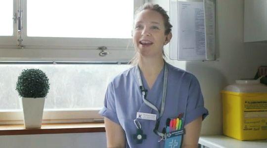 Sarianna Cortes om att synliggöra Vårdförbundet på Arbetsplats