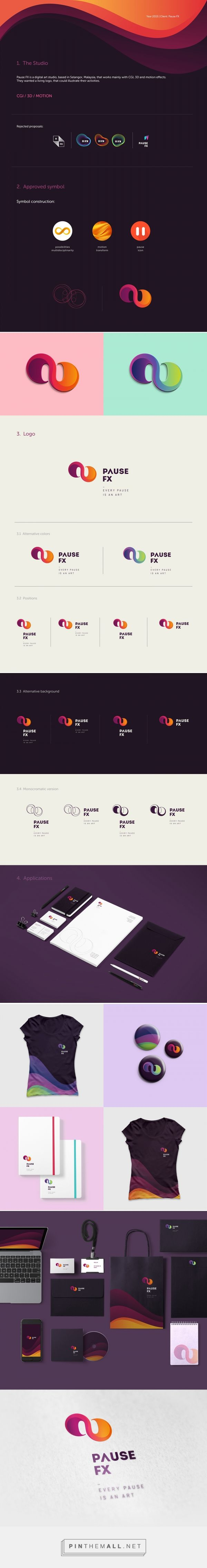 Pause FX on Behance... - a grouped images picture - Pin Them All