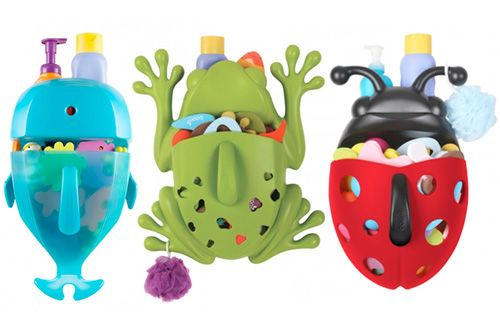 Boon Frog Pod, Boon Whale Pod, Boon Bug Pod - Bath Toy Storage