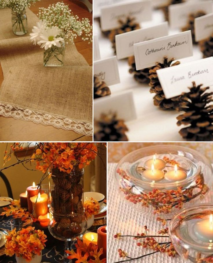 Event Inspiration: Fall Rehearsal Dinner - weddingsabeautiful