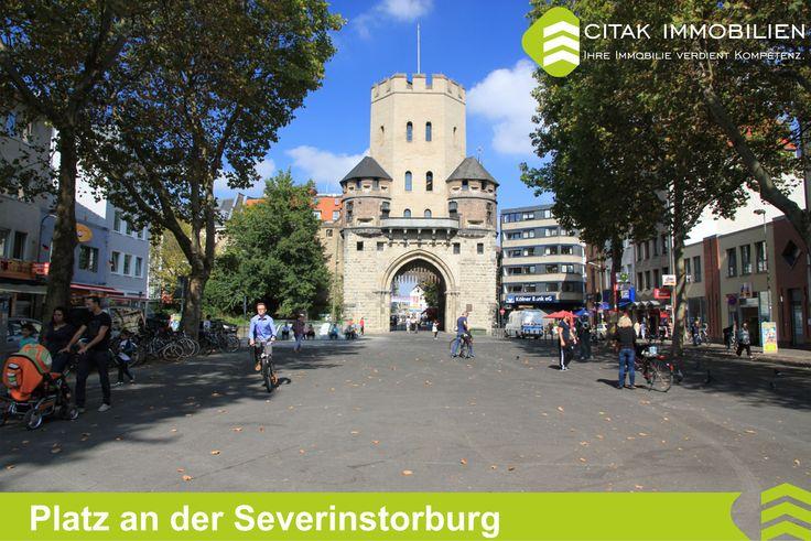 Köln-Altstadt-Süd-Platz Severinstorburg