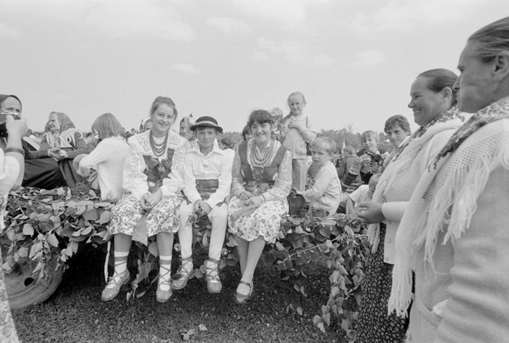 Podhale.  Portraits taken in various Polish villages around the turn of 1970s/1980s by Zofia Rydet.