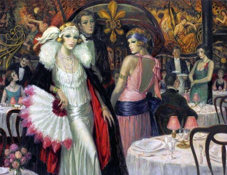 François Batet 1921 | Spanish Art Déco painter | Tutt'Art@: