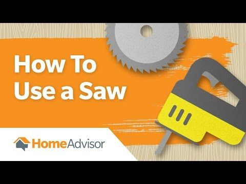 How to Use a Saw: Using a miter, circular and jig saw