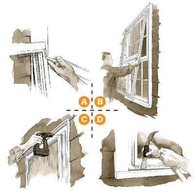 12 easy DIY fall fix-ups that will save you thousands in future repair, maintenance, and energy costs. Illustration: Joe McKendry. thisoldhouse.com