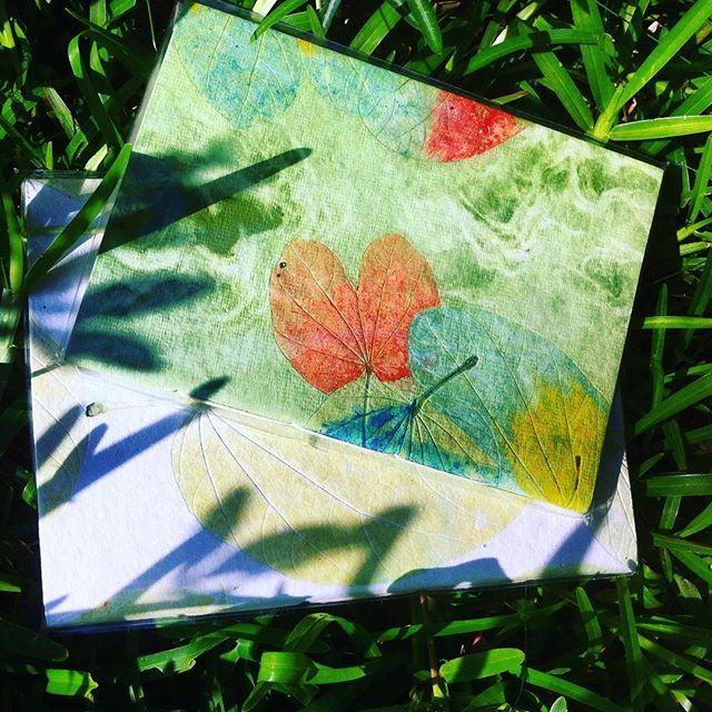 Handmade paper to capture your thoughts! #paper #handmade #aurovilledotcom #auroville #happiness #paperlove #nature #paperbeauty #handmadepaper #green #eco #gogreen #behappy