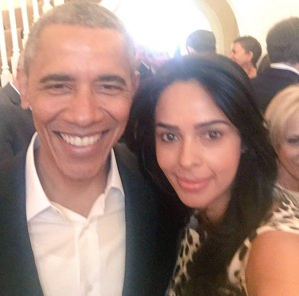 Mallika Sherawat meets Barack Obama, AGAIN! #mallikasherawat  #barackobama