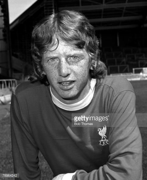 Liverpool FC Photocall David Fairclough 31st July 1975