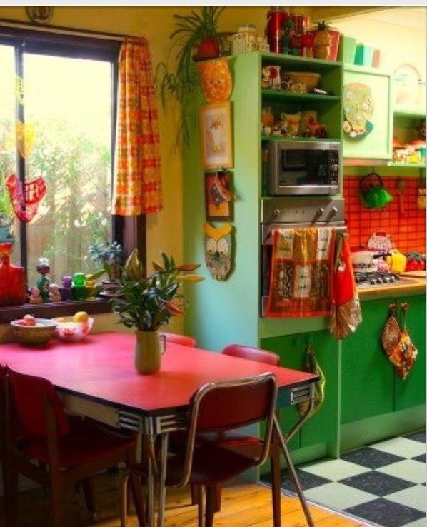 Cute kitschy kitchen