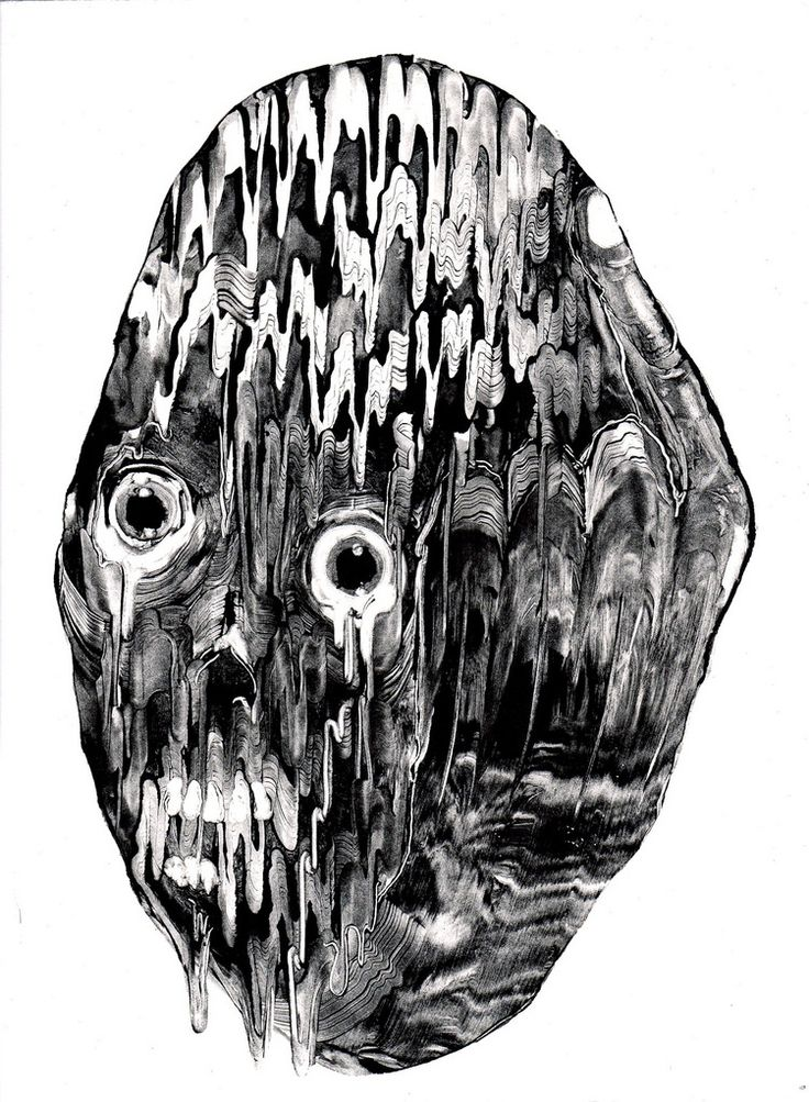 Multimedia Artist Grady Gordon Creates Dark and Surreal Monotypes   Hi-Fructose Magazine