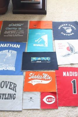 The Dixie Chicken Quilts: T-Shirt Quilt Tutorial - Part 2.  Demonstrates how to make quilt to with non-uniform sized blocks