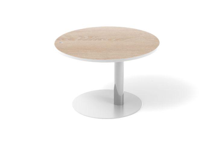Coffee table Dot M, limited edition with oak veneer. www.bixbit.com
