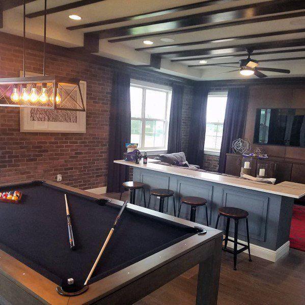 Pool Table Room Decorating Ideas