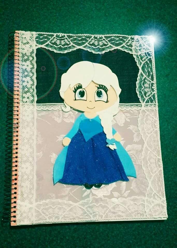 Cuaderno con Frozen
