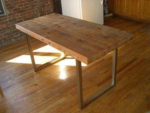 Tú Preguntas! Dónde comprar una mesa de comedor de madera envejecida como la de las fotos : x4duros.com