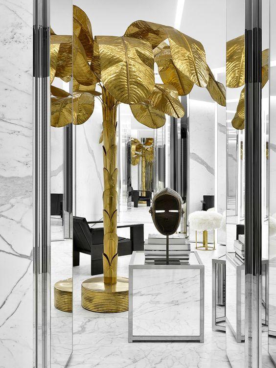 Saint Laurent Store,Tokyo | Contract Furniture | Retail Interior Design #retailinteriordesign #contract #moderninteriordesign Find more at:https://www.brabbu.com/en/projects/