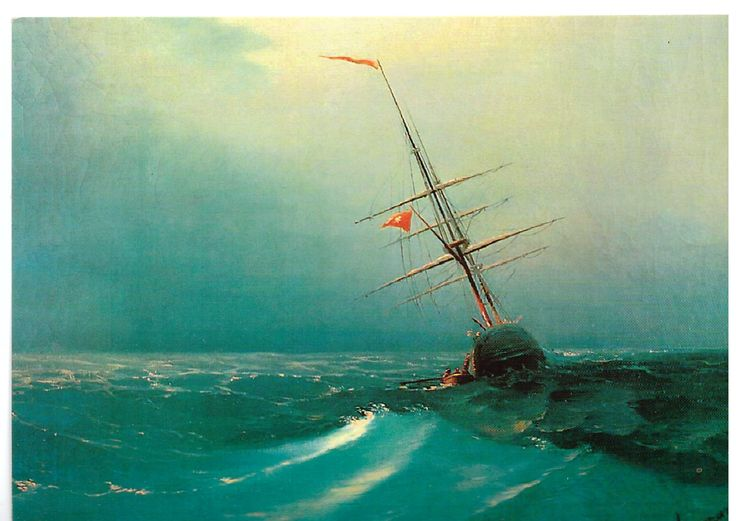 Night by Ivan Aivazovsky 2016/09/01