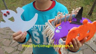 Bricomaghi: Storytelling basket di Halloween!