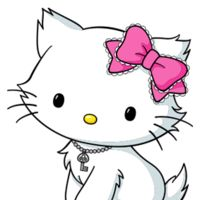 Charmmy Kitty (チャーミーキティ, Chāmī Kiti) is a Sanrio character who is Hello Kitty's pet cat...
