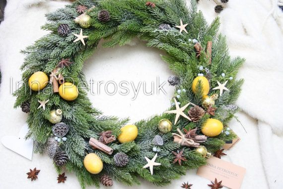 Check out this item in my Etsy shop https://www.etsy.com/listing/490617013/new-handmade-christmas-wreath-for-front