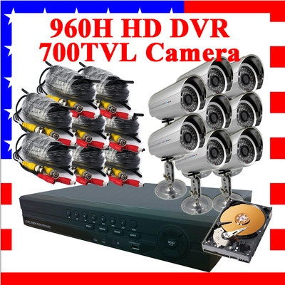 8CH 8 CHANNEL 960H HDMI CCTV Video DVR Security System + 700TVL Sony CCD Camera - Price:US $999.99