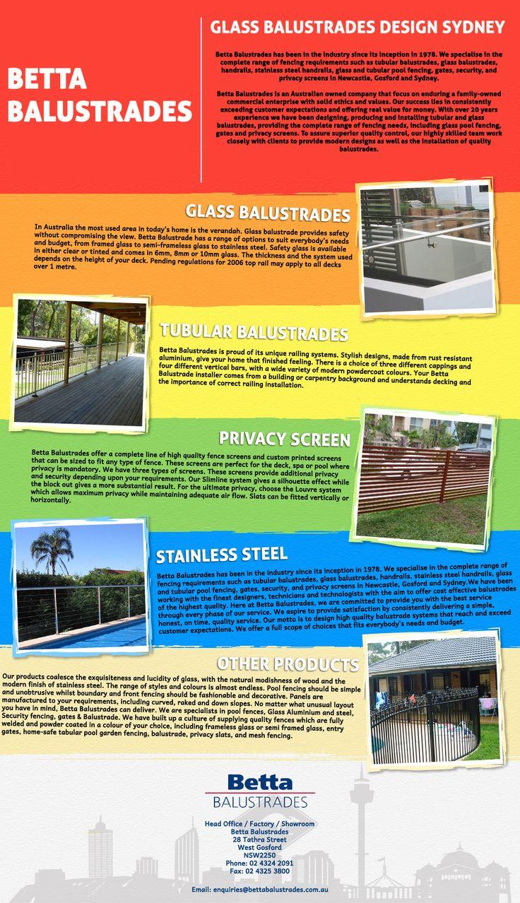 Glass Balustrades Design Sydney