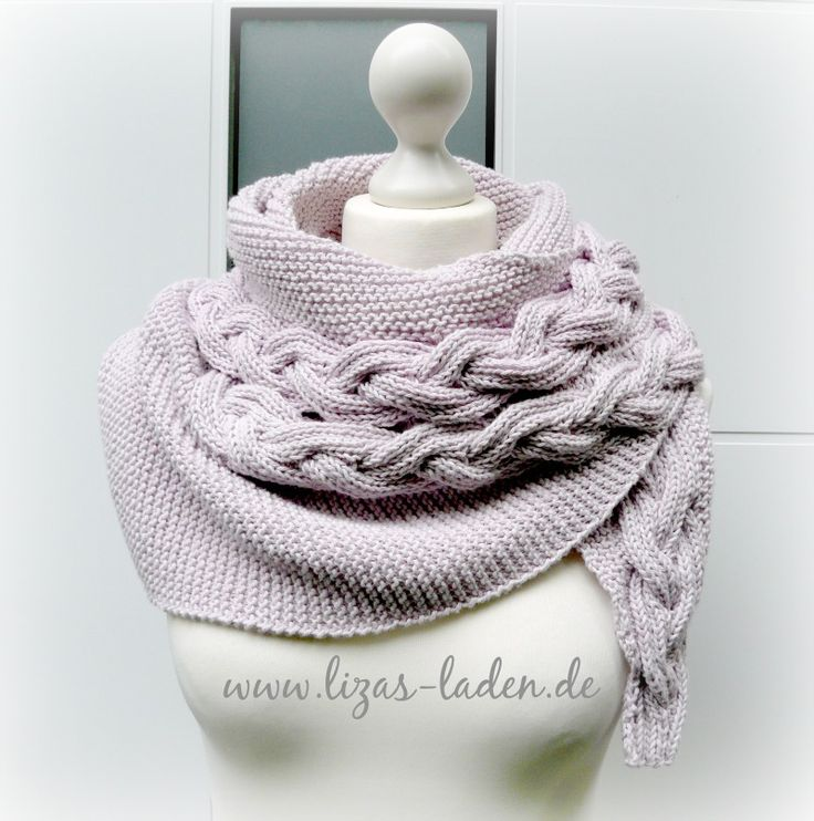609 best Schal images on Pinterest | Stricken häkeln, Gestricktes ...