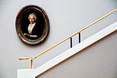 """This. Is. A. Fantastic. Stair. Beautiful in its simplicity! From the blogpost """"Habitually Chic®: Somebody's Watching Me""""."""