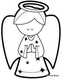 Image result for angel dela guarda para colorear