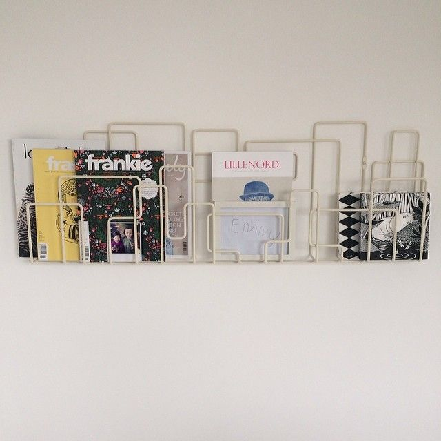 104 best images about magazine racks on pinterest white for Magazine racks for home