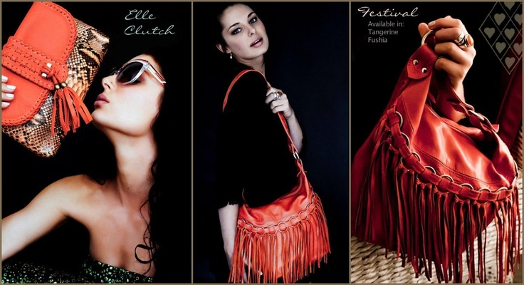 I'll take one of each thanks! Festival Leather Tassle Bag. Many colours to choose from x