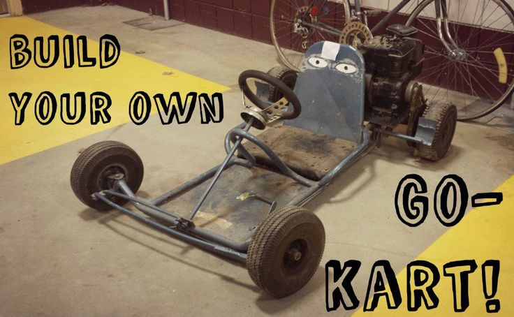 Want to build your own go-kart? This article lists all the items you will need to put your own kart together.