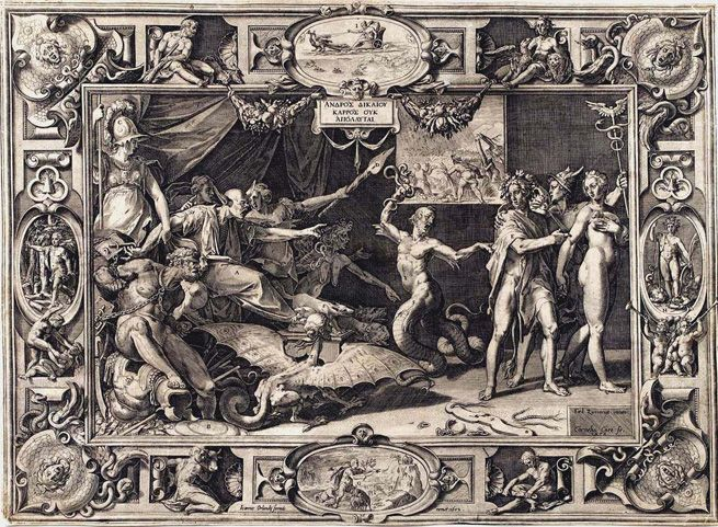The Calumny of Apelles (1572)