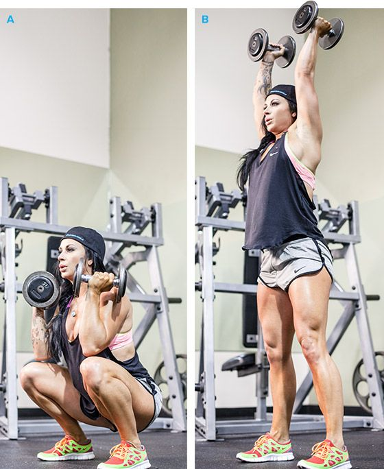 Bodybuilding.com - Rig For Pain: Ashley Horner's Full-Body Circuit Workout Now that's a killer workout.