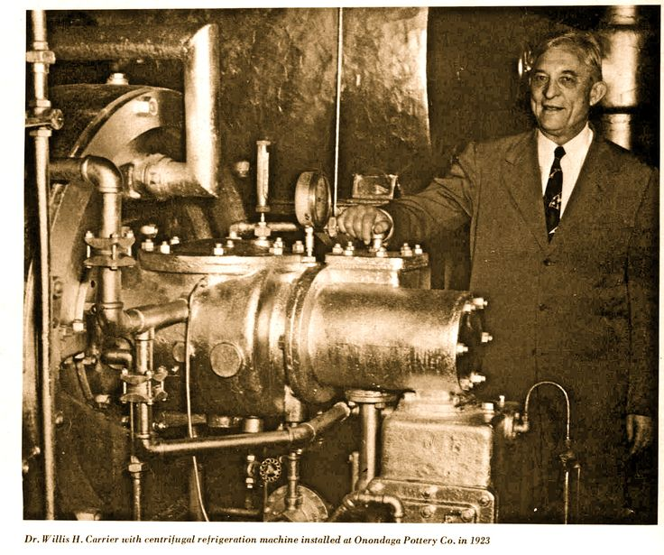 Who invented the Air Conditioner Willis Haviland Carrier