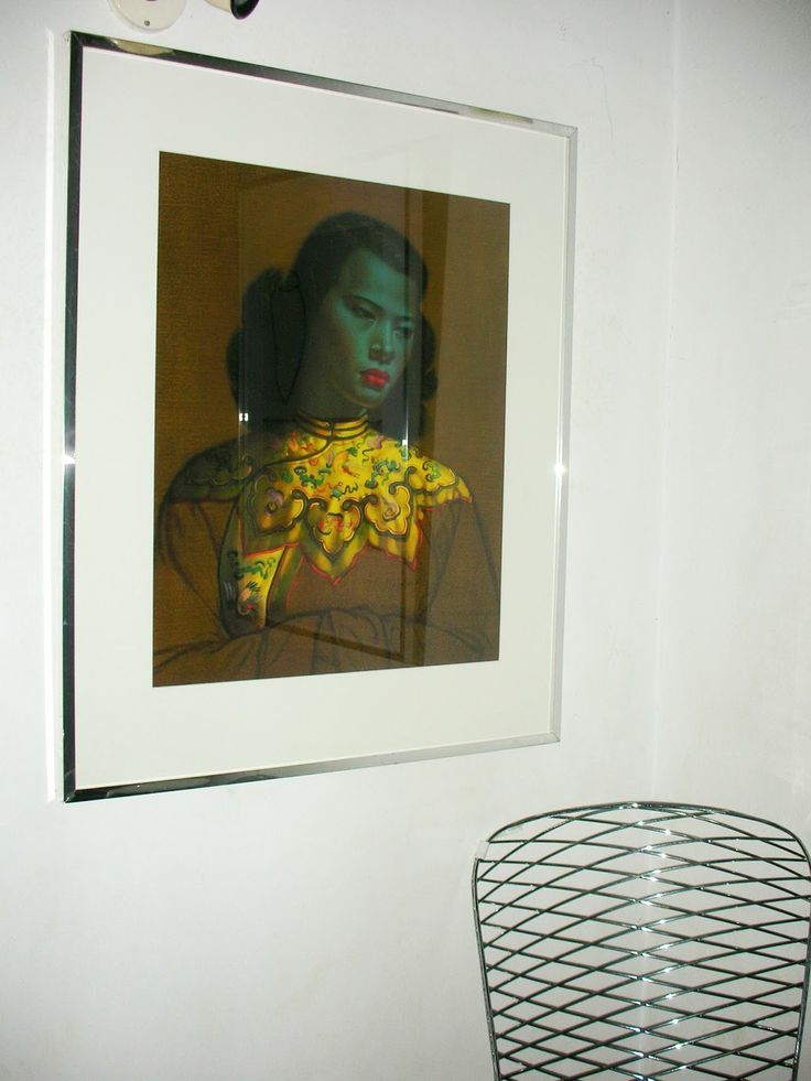SKYSCRAPER CAPE TOWN - 20th CENTURY CLASSICS: Vintage Tretchikoff 'Chinese Girl' or 'Green Lady'...