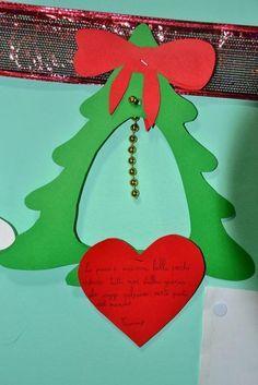 Il facile albero di Natale da punteggiare