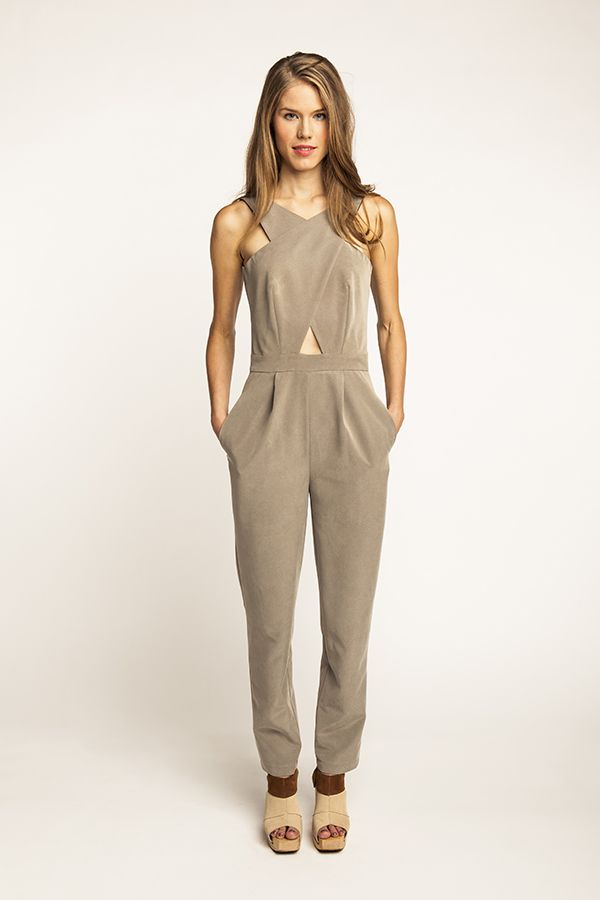 Ailakki Cross Front Jumpsuit - Named Curious to see people make this. Too avanced for me, but I like it. I would make it two tone: Cream top and black pants