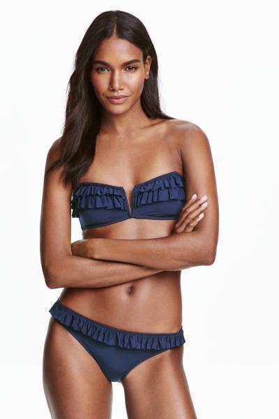 Frilled bikini bottoms | H&M
