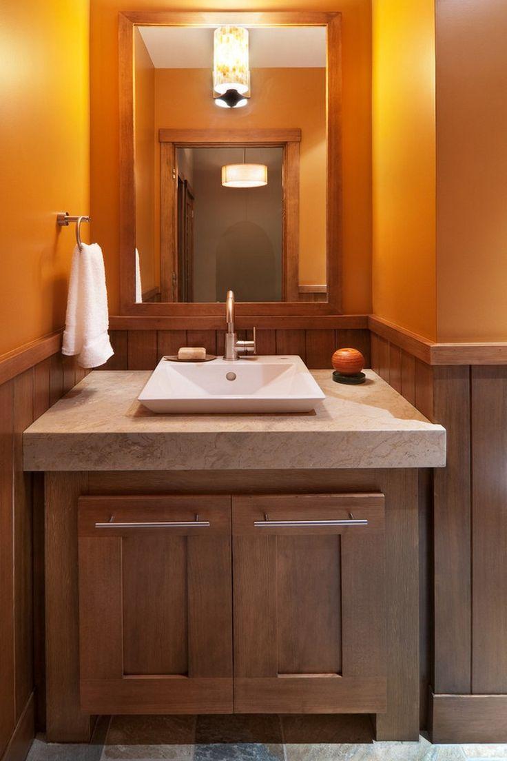 27 best powder room images on pinterest | bathroom ideas, powder