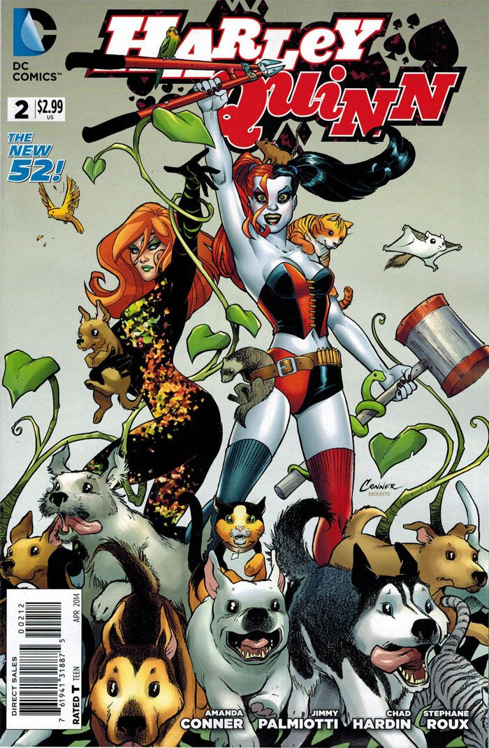 Harley Quinn New 52 | ... about HARLEY QUINN #2 2ND PRINT VARIANT DC COMICS NEW 52 BATMAN JOKER