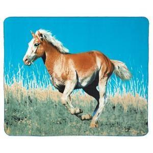 Buy Gifts & Decor Wild Mustang Horse Fleece Sofa Blanket by Bedding5