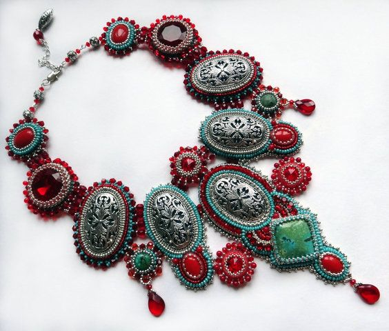 An idea what to do with mom's old bracelet.