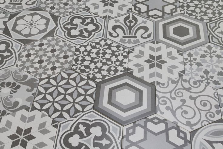 Hexagon Harmony 17.5x20cm - Hexagon - Vintage & Patterned - Tiles